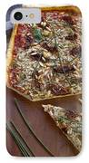 Pizza With Herbs IPhone Case