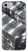 Platinum Bars IPhone Case by Ria Novosti