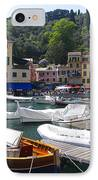 Portofino In The Italian Riviera In Liguria Italy IPhone Case by David Smith