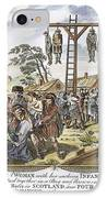 Protestant Martyrs, 1563 IPhone Case by Granger