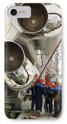 Proton-m Rocket Before Launch IPhone Case by Ria Novosti