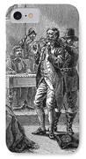 Puritan Punishment IPhone Case by Granger