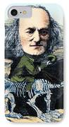 Richard Owen, English Paleontologist IPhone Case by Science Source