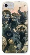 Rock Springs Massacre IPhone Case by Granger
