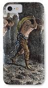 Roman Slavery: Coal Mine IPhone Case
