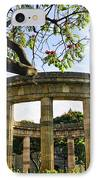 Rotunda Of Illustrious Jalisciences And Guadalajara Cathedral IPhone Case