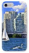 Sailing In Toronto Harbor IPhone Case