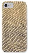 Sand Ripples In Shallow Water IPhone Case by Elena Elisseeva
