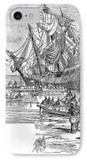 Santa Maria: Wreck, 1492 IPhone Case by Granger