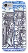 St. Catherine, Italian Philosopher IPhone Case