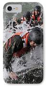 Students In Basic Underwater IPhone Case by Stocktrek Images