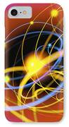 Subatomic Particles Abstract IPhone Case
