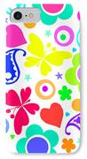 Summer Fun IPhone Case by Louisa Knight