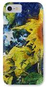 Sunflowers IPhone Case by Michelle Calkins