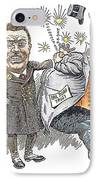 T. Roosevelt Cartoon IPhone Case by Granger