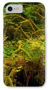 Temperate Rain Forest IPhone Case by Adam Jewell
