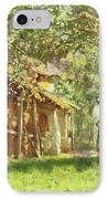 The Gypsy Camp IPhone Case by Harold Harvey