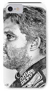 Tony Stewart In 2011 IPhone Case by J McCombie