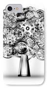 Tree Of Industrial IPhone Case by Setsiri Silapasuwanchai