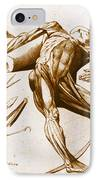 Two Gentlemen Contemplating A Cadaver IPhone Case by Science Source