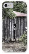 Watercolor Barn IPhone Case by Joan Carroll