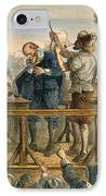 Witch Trial: Execution, 1692 IPhone Case by Granger