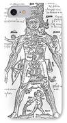 Zodiac Man, Medical Astrology IPhone Case by Science Source