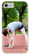 Stretching Exercises IPhone Case