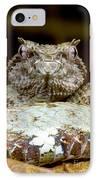 Eyelash Viper IPhone Case by Dante Fenolio