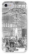 Centennial Fair, 1876 IPhone Case