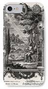 1731 Johann Scheuchzer Creation Of Man IPhone Case