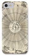 1731 Johann Scheuchzer Planet Orbit IPhone Case by Paul D Stewart
