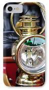 1907 Stanley Steamer - Lantern IPhone Case by Kaye Menner
