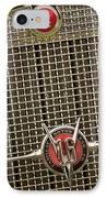 1930 Cadillac 452 Fleetwood Grille Emblem IPhone Case