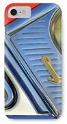 1955 Lincoln Capri Emblem IPhone Case