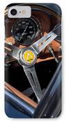 1963 Apollo Steering Wheel     IPhone Case by Jill Reger