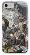 19th-century Diamond Mining, Brazil IPhone Case