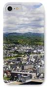 Aerial Japanese Cityscape IPhone Case by Jeremy Woodhouse
