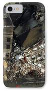 Aerial View Of The Terrorist Attack IPhone Case by Stocktrek Images