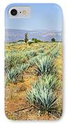 Agave Cactus Field In Mexico IPhone Case