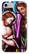 Baptism IPhone Case by Munir Alawi