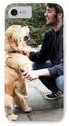 Dog Grooming IPhone Case