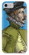 Felix Plater, Swiss Physician IPhone Case by Science Source