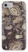 Foraminiferous Limestone Lm IPhone Case by M. I. Walker