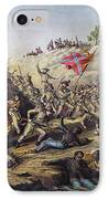 Fort Pillow Massacre, 1864 IPhone Case by Granger
