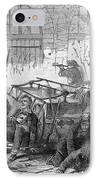 Harpers Ferry, 1859 IPhone Case by Granger