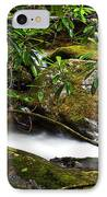 Rhododendron And Waterfall IPhone Case