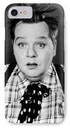 Roscoe Fatty Arbuckle IPhone Case by Granger