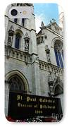 St Paul Cathedral IPhone Case by Thomas R Fletcher