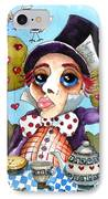 The Mad Hatter IPhone Case